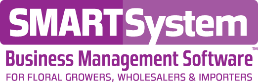SMARTSystem software for floral growers, wholesalers and importers.